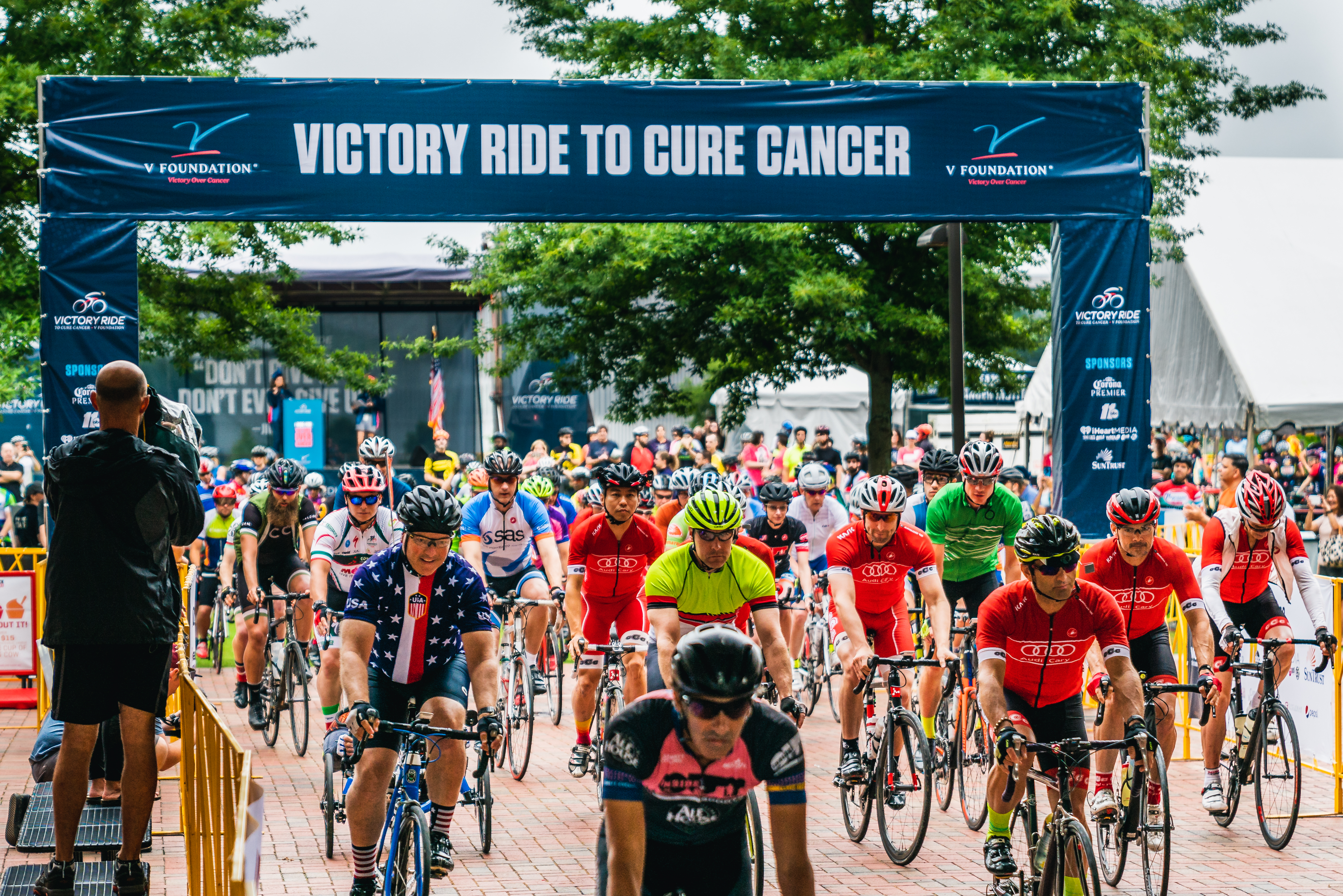 Victory Riders leave the starting gate