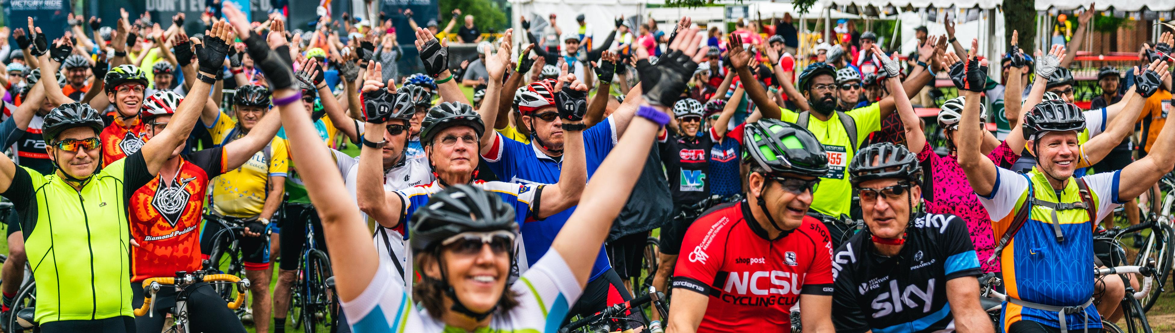 Victory Ride Banner Celebration